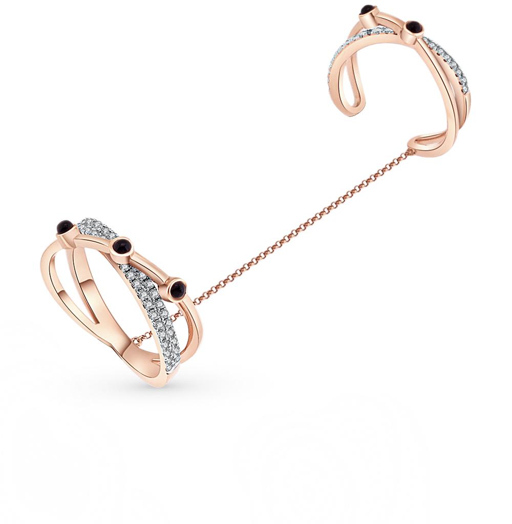 Фото «золотое кольцо с бриллиантами и ониксами»